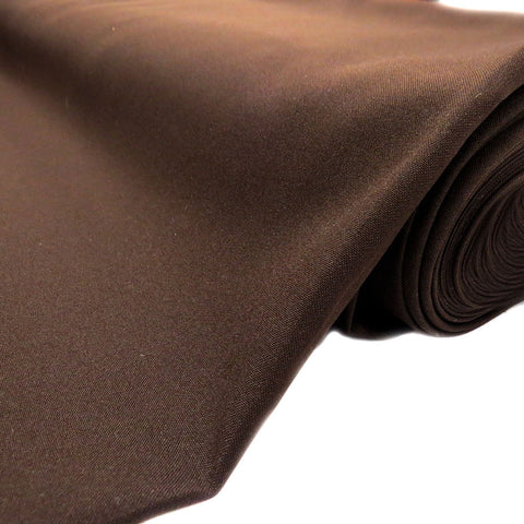 "Ko tapu Island, Poplin Fabric, Dark Brown, 60"" Wide; 1 yard"