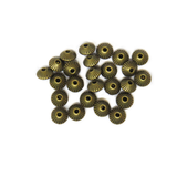 Disk Spacer Beads, Antique Bronze, 8mm; 25 pieces