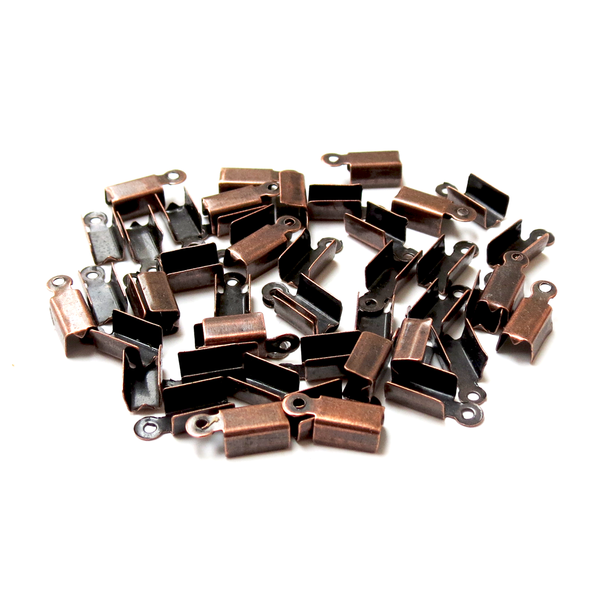 Iron End Cord, Copper-12mm; 50pcs