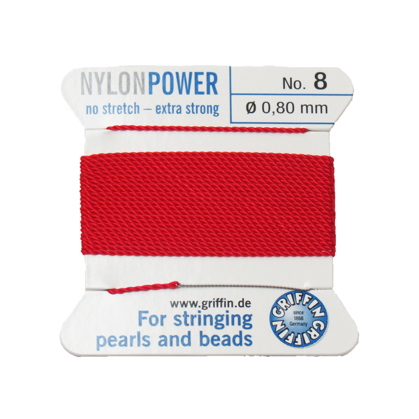 Griffin Cord, Red-8