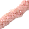 Light Rose Faceted Jade Bead, 10mm - 1 strand