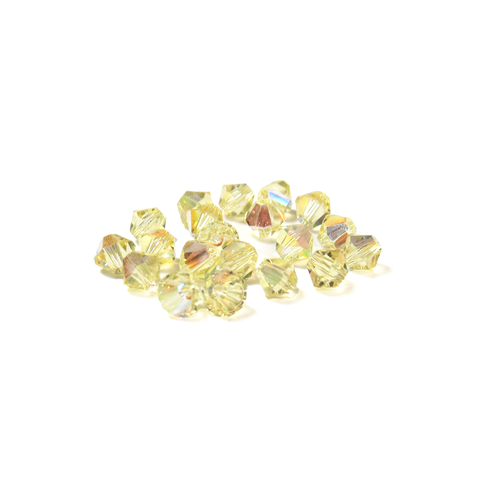 Swarovski Crystal, Bicone, 4mm - Joanquil AB; 20 pcs