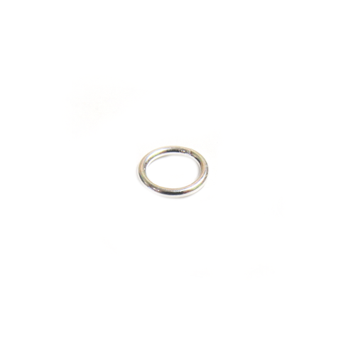 Jump Ring Closed, Sterling Silver, Gauge 20, 7mm; 1 piece
