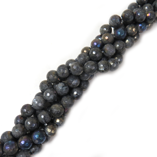 12mm Labradorite Faceted - 1 strand