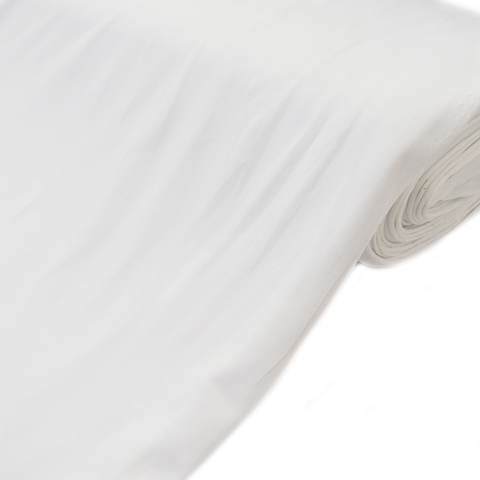 "Cloud JLo Lycra, White, 60"" Wide; 1 yard"