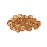 Swarovski Crystal, Bicone, 8mm - Light Colorado Topaz; 20 pcs