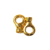 Magnetic Clasps, Gold, 21x14mm - 1 pair