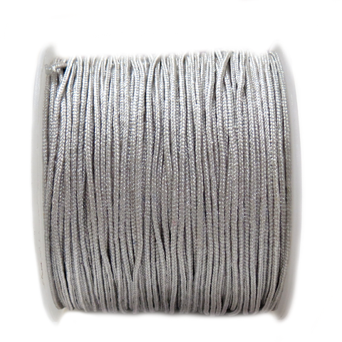 Nylon Cord, 1mm-Gray; 60 yards