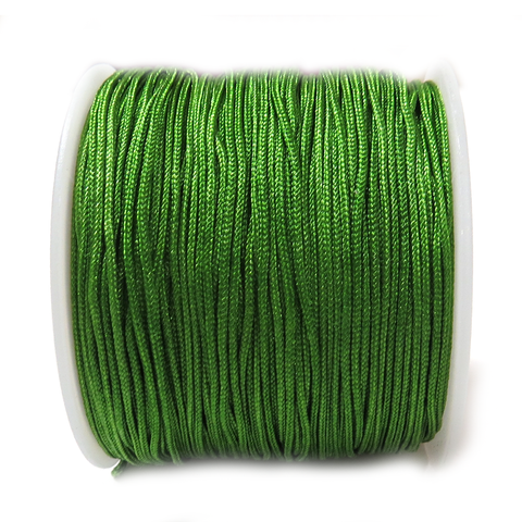 Nylon Cord, 1mm- Olive; 60 yards
