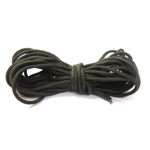 Olive Parachute Cord 325; 3mm - 21ft