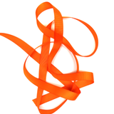 "Orange- Grosgrain Ribbon, 3/4"" - 1 Yard"