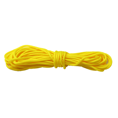Yellow Parachute Cord 325 - 3mm; 21ft