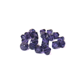Swarovski Crystal, Bicone, 6mm - Purple Velvet; 20 pcs