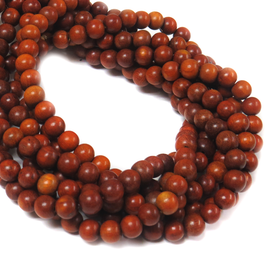 Red Wood, 10mm - 1 Strand