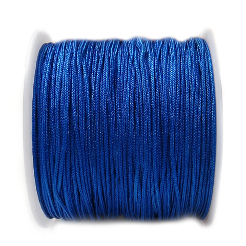 Nylon Cord, 1mm- Royal Blue; 60yards