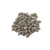 Spring Beads, Silver, 9x6mm - 100 pieces