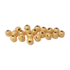 Stardust Spacer Bead, Gold-8mm; 20pcs