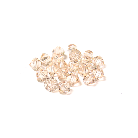 Swarovski Crystal, Bicone, 5MM - Silk; 20 pcs