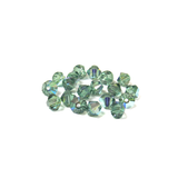 Swarovski Crystal, Bicone, 4mm - Erinite AB; 20 pcs