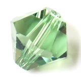 Swarovski Crystal, Bicone, 8mm - Erinite; 20 pcs