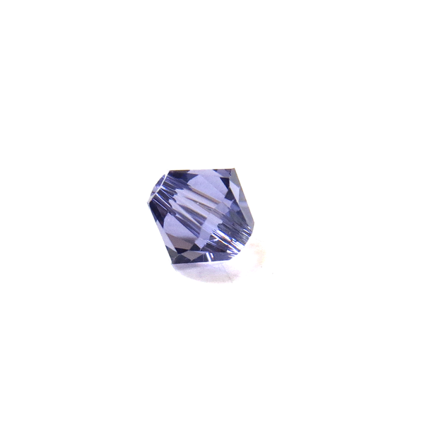 Swarovski Crystal, Bicone, 5MM - Tanzanite; 20pcs