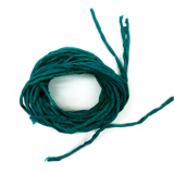 "Silk Cord, Teal, 39"" Long; 1 piece"