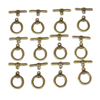 Toggle Smooth, Antique Bronze, 20mm; 12 pieces