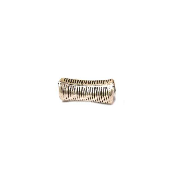 Tube Spacer, Sterling Silver, 12x5mm; 1 piece