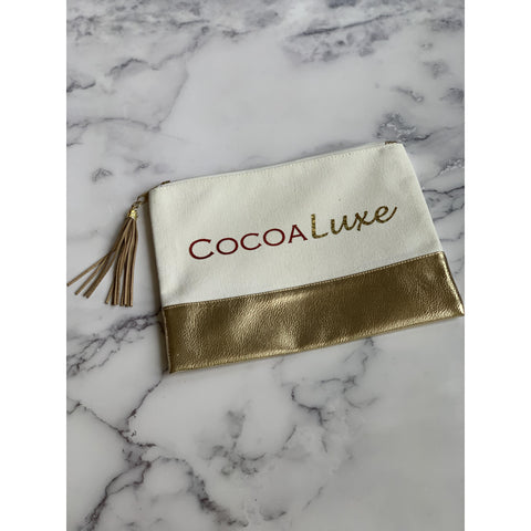 CocoaLuxe Canvas Pouch