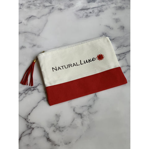 Natural Luxe Canvas Pouch