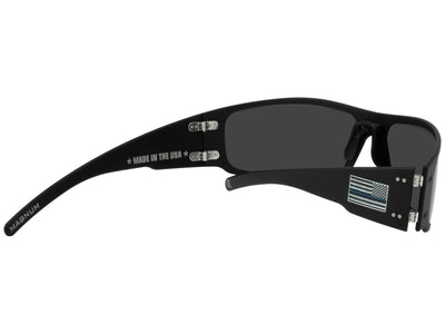 Thin Blue Line Magnum / Black / Smoked Polarized