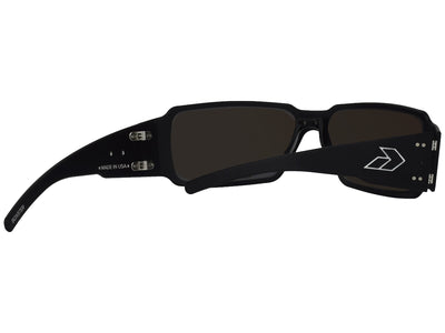 Black/ Smoke Polarized w/ Blue Mirror