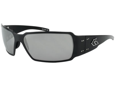 Black/ Smoke Polarized w/ Chrome Mirror