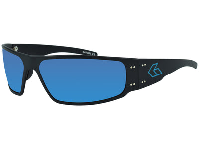 Black w/ Engraved Blue G / Blue Mirror Polarized