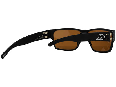Matte Black / Brown Polarized