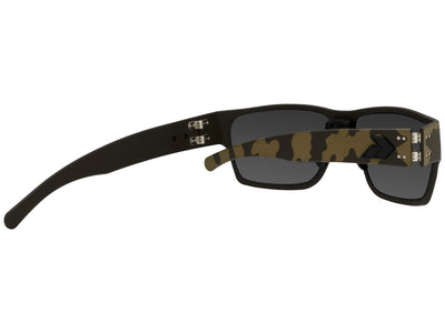 Cerakote OD Green Camo Blackout Logo / Smoked Polarized