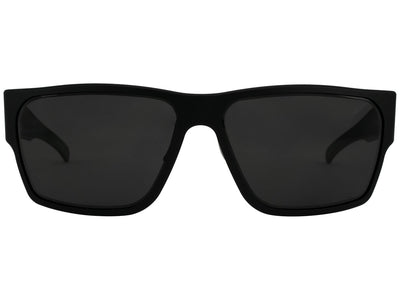 Matte Blackout / Smoke Polarized