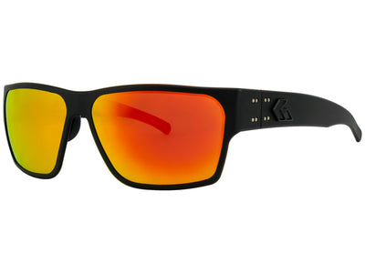 Matte Blackout / Smoke Polarized w/ Sunburst Mirror