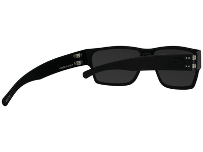 Matte Blackout / Smoked Polarized w/ Chrome