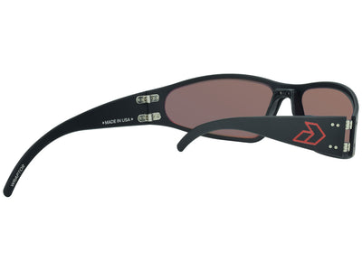 Black w/ Red Engraved G / Red Mirror Polarized