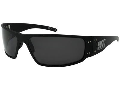Black Frame / Smoked Polarized Lens