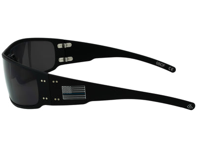 Thin Blue Line / Matte Black / Smoked Polarized