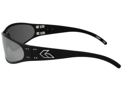 Black / Smoked Polarized w/ Chrome Mirror