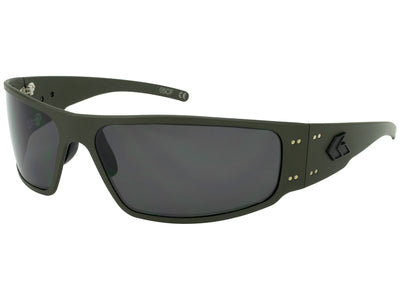 Magnum (Asian Fit) / OD Green Cerakote, Smoked Polarized