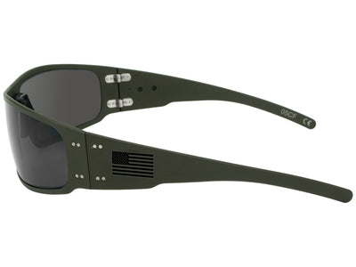 Limited Edition Cerakote OD Green / Black Fill American Flag / Smoked Polarized Lens