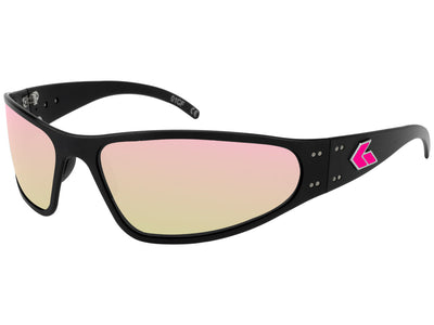 Pink G Wraptor / Smoke Polarized / Pink Mirror