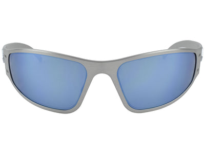 Brushed / Smoked Polarized w/ Blue Mirror