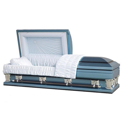 "OVERSIZE MONARCH BLUE - 28"" - Caskets Warehouse"