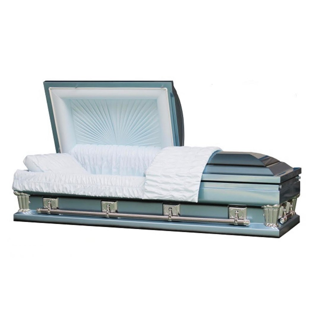 "OVERSIZE MONARCH BLUE - 31"" - Caskets Warehouse"
