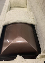 Load image into Gallery viewer, PRESIDENT FULL COUCH WITH FOOT PANEL - Caskets Warehouse